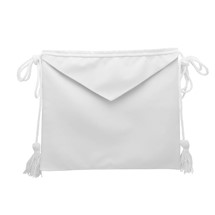 Lambskin Masonic Apron lined apron and flap