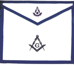 Masonic Apron - Texas Past Master or Officers Apron